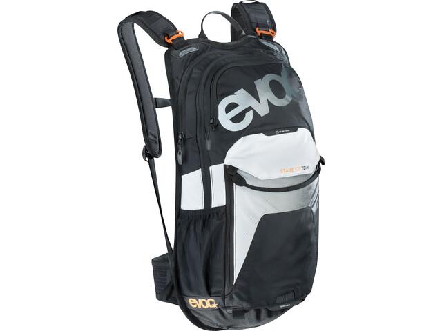 EVOC Stage Team Mochila Technical Performance 12 Litros, black/white/neon orange